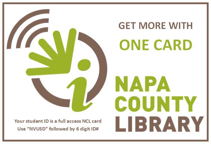 Napa County Library One Card